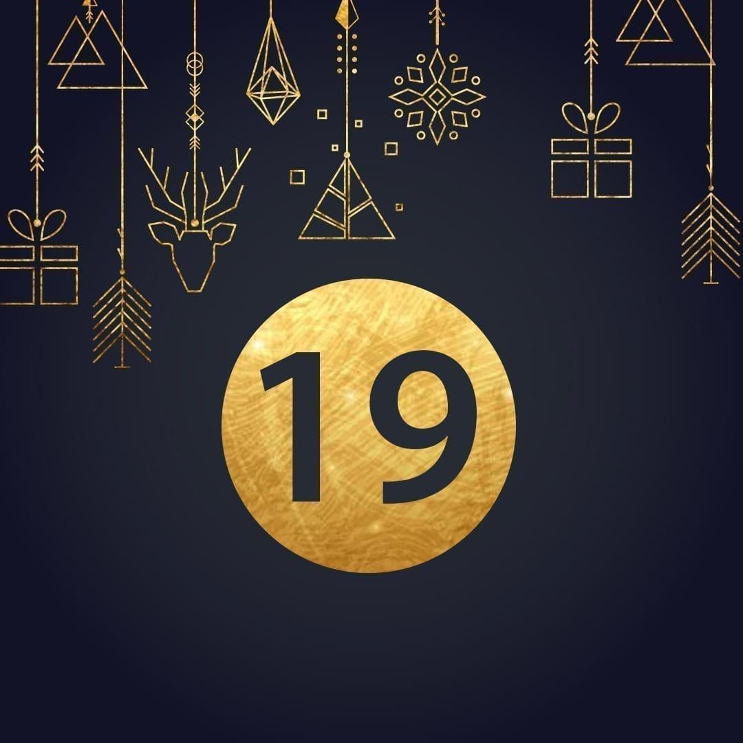 Lucka 19 i vår adventskalender. Kriss julkalender med fina erbjudanden varje dag fram tills julafton.