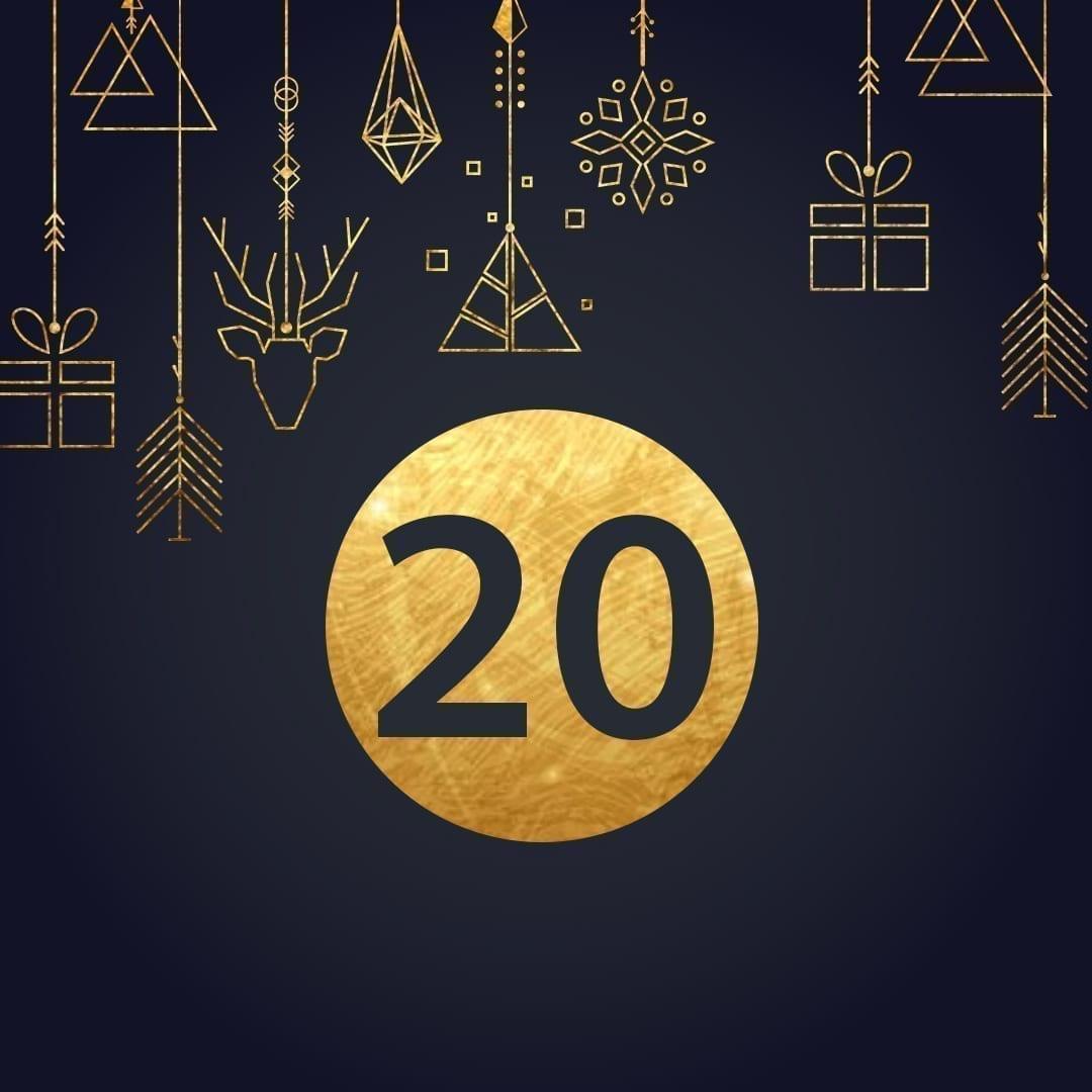 Lucka 20 i vår adventskalender. Kriss julkalender med fina erbjudanden varje dag fram tills julafton.