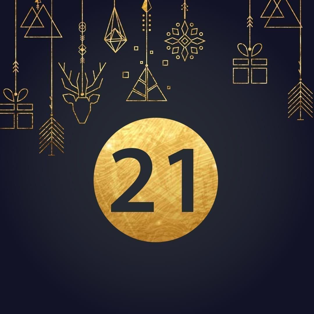 Lucka 21 i vår adventskalender. Kriss julkalender med fina erbjudanden varje dag fram tills julafton.